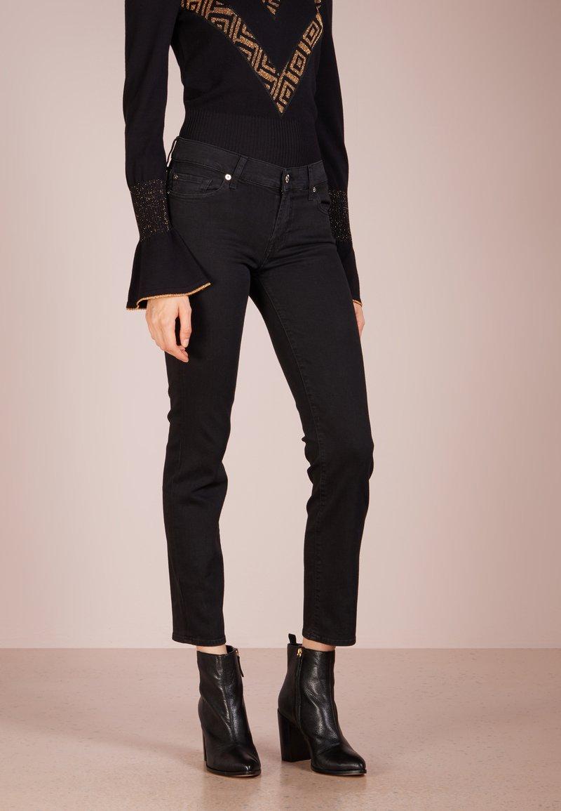 7 for all mankind - ROXANNE - Slim fit jeans - bair rinsed black