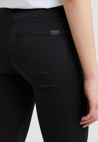 7 for all mankind - CROP - Jeans Skinny Fit - black - 4