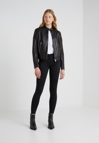 7 for all mankind - CROP - Jeans Skinny Fit - black - 1