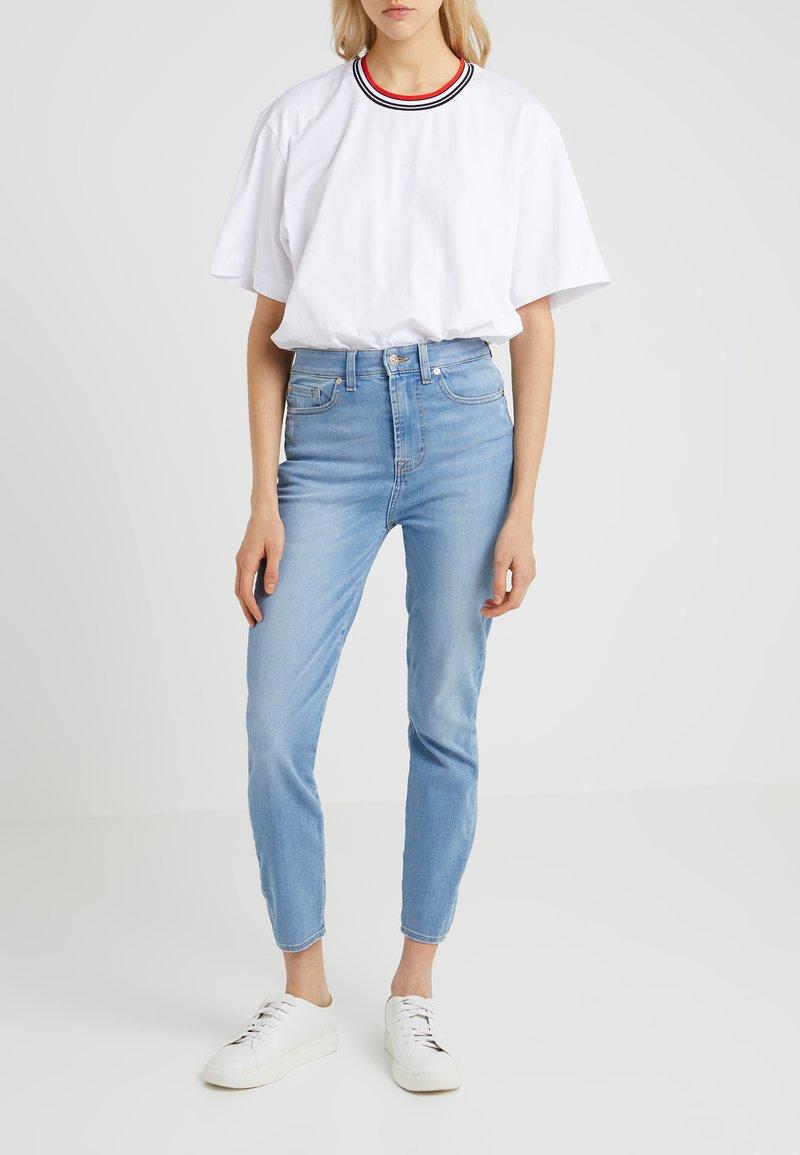 7 for all mankind - AUBREY - Jeans Skinny Fit - bair marina light