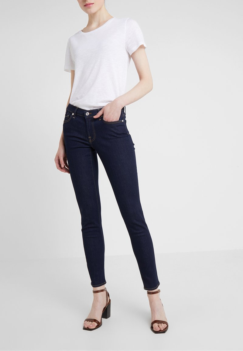 7 for all mankind - PYPER BAIR  - Jeans Skinny Fit - bair rinse