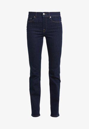 BAIR CLEAN RINSE - Jeans straight leg - dark-blue denim