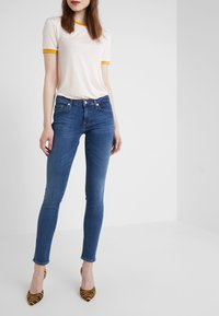 7 for all mankind - PYPER  - Jeans Skinny Fit - bair vintage dusk - 0