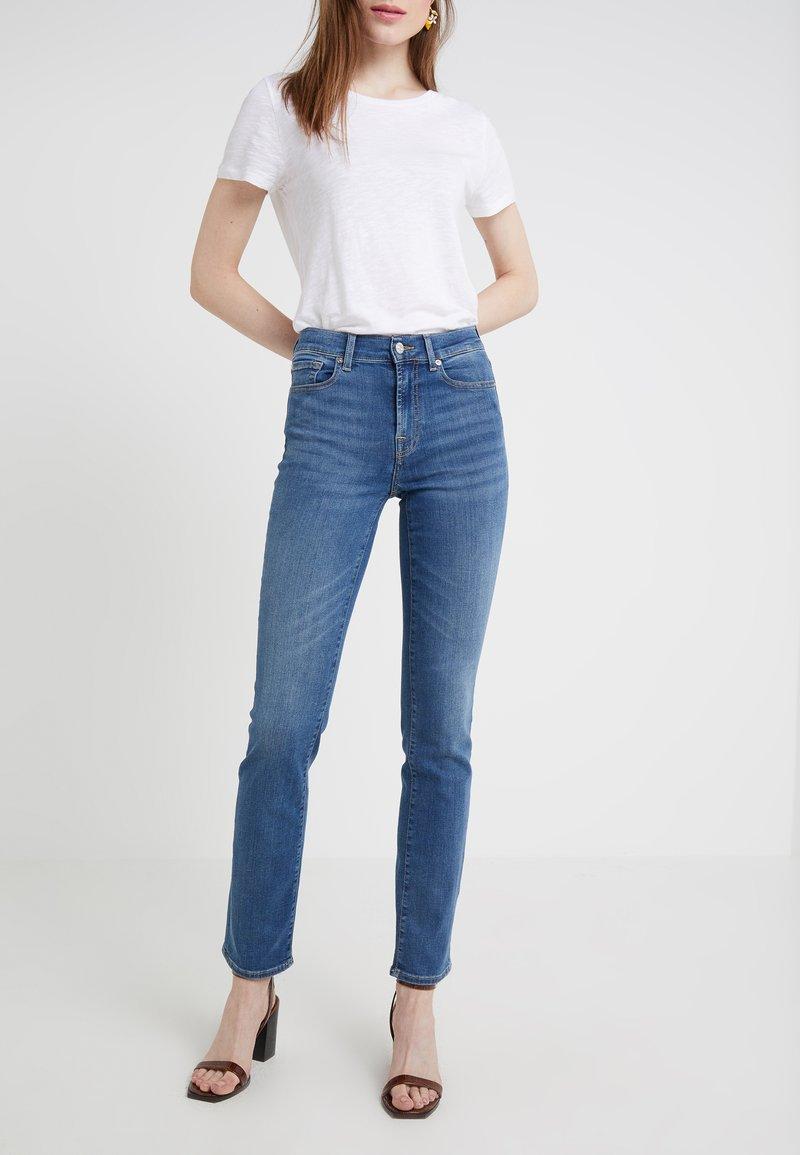 7 for all mankind - Straight leg jeans - bair vintage dusk
