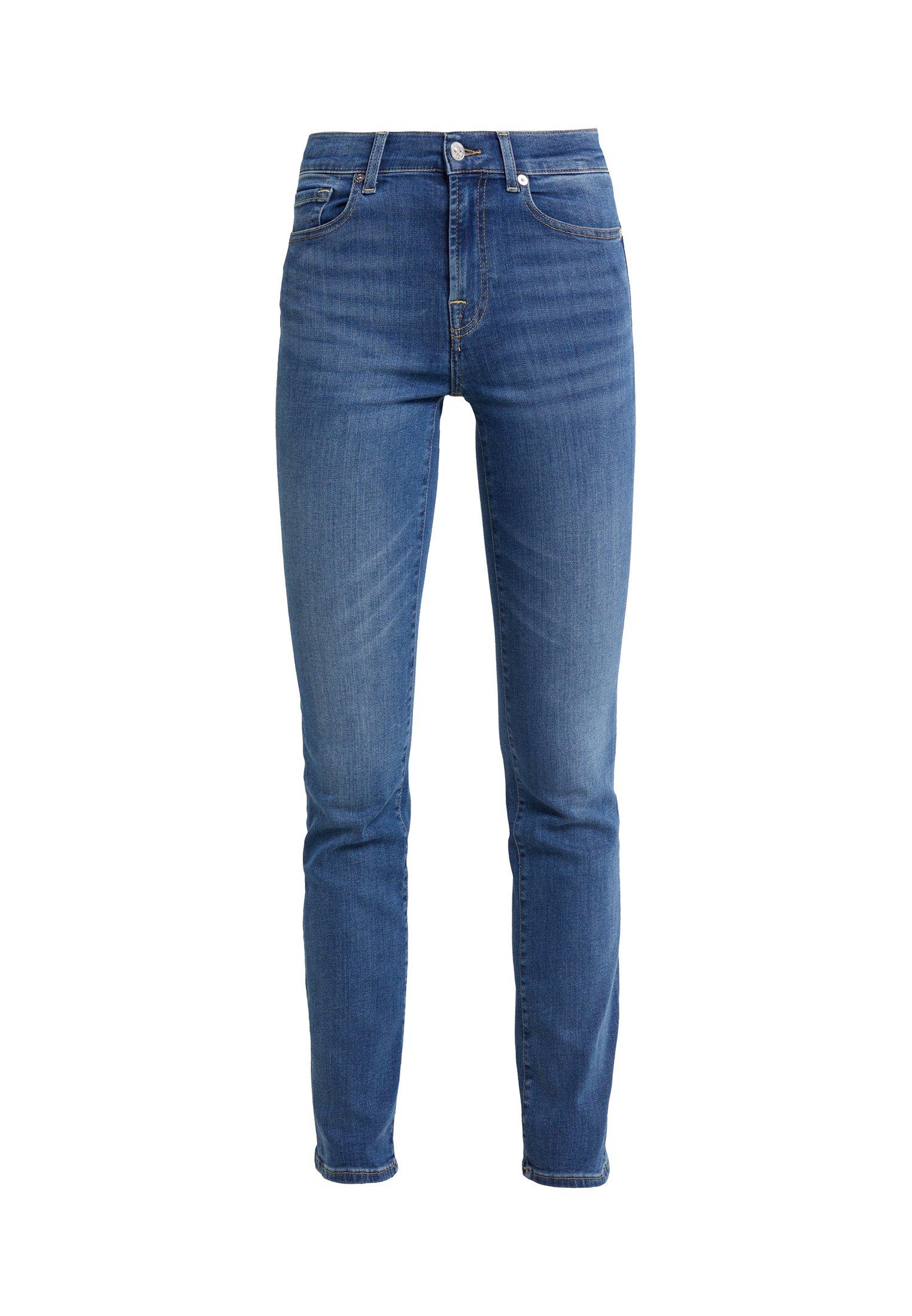 7 For All Mankind Jeans A Sigaretta - Bair Vintage Dusk rDLfd