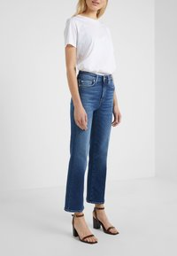 7 for all mankind - CROPPED BOOT LUXE  - Bootcut jeans - vintage pacific grove - 0