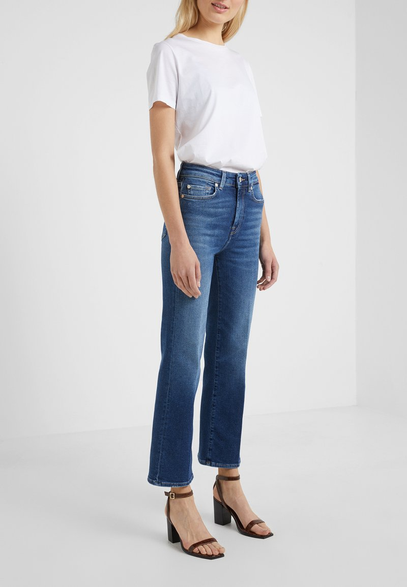 7 for all mankind - CROPPED BOOT LUXE  - Bootcut jeans - vintage pacific grove