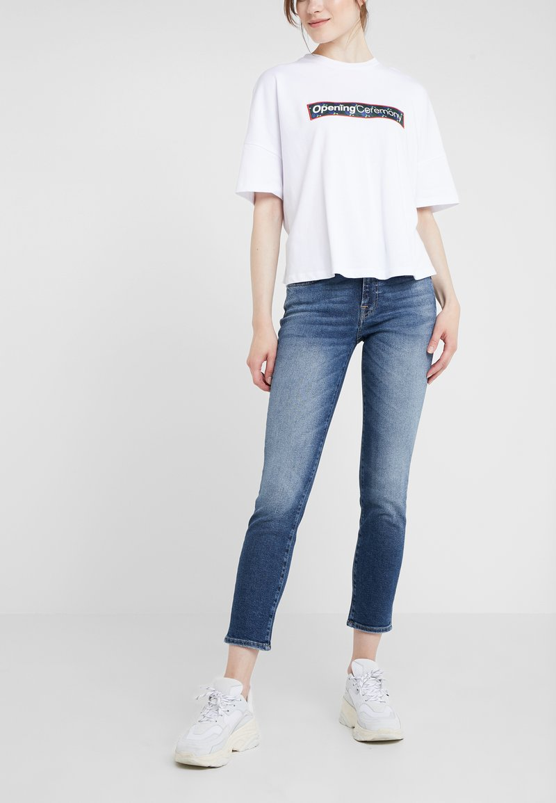 7 for all mankind - ROXANNE LUXE  - Jeans Skinny - vintage pacific grove