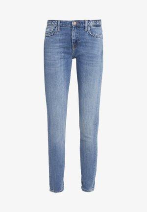 ILLUSION HEARTFELT WITH BRAIDES - Jeans Skinny Fit - blue denim
