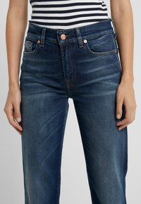 7 for all mankind - EN ROUTE - Jeans a sigaretta - dark blue - 3