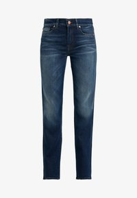 7 for all mankind - EN ROUTE - Jeans a sigaretta - dark blue - 4
