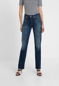 7 for all mankind - EN ROUTE - Jeans a sigaretta - dark blue - 0