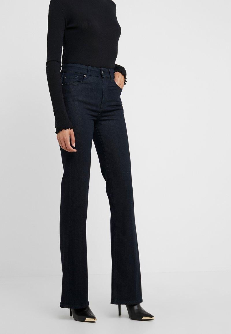 7 for all mankind - LISHA ILLUSION DARKNESS - Slim fit jeans - dark blue