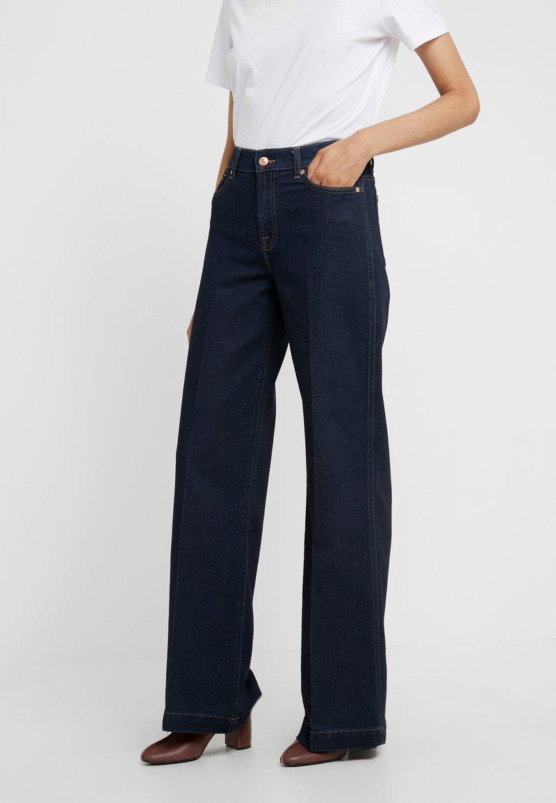 7 for all mankind - LOTTA ORIGINAL - Straight leg jeans - dark blue