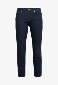 7 for all mankind - MID RISE ROXANNE ORIGINAL - Džíny Straight Fit - dark blue - 4