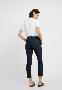 7 for all mankind - MID RISE ROXANNE ORIGINAL - Džíny Straight Fit - dark blue - 2