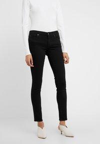7 for all mankind - PYPER ILLUSION FAME - Jeans Skinny Fit - black - 0
