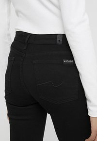 7 for all mankind - PYPER ILLUSION FAME - Jeans Skinny Fit - black - 5