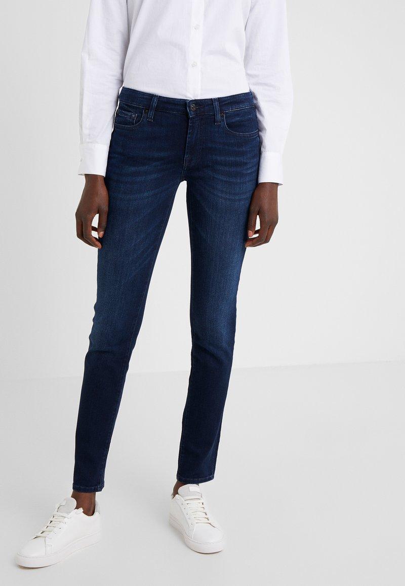 7 for all mankind - PYPER ILLUSION HOMELAND - Jeans Skinny Fit - dark blue