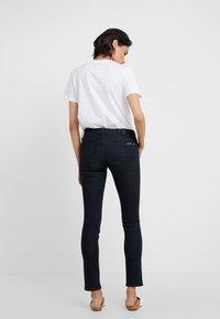 7 for all mankind - PYPER ILLUSION DARKNESS - Jeans Skinny - dark blue - 2