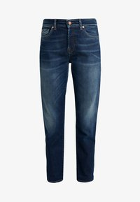 7 for all mankind - ASHER EN ROUTE - Relaxed fit jeans - dark blue - 4