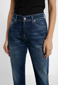 7 for all mankind - ASHER EN ROUTE - Relaxed fit jeans - dark blue - 3