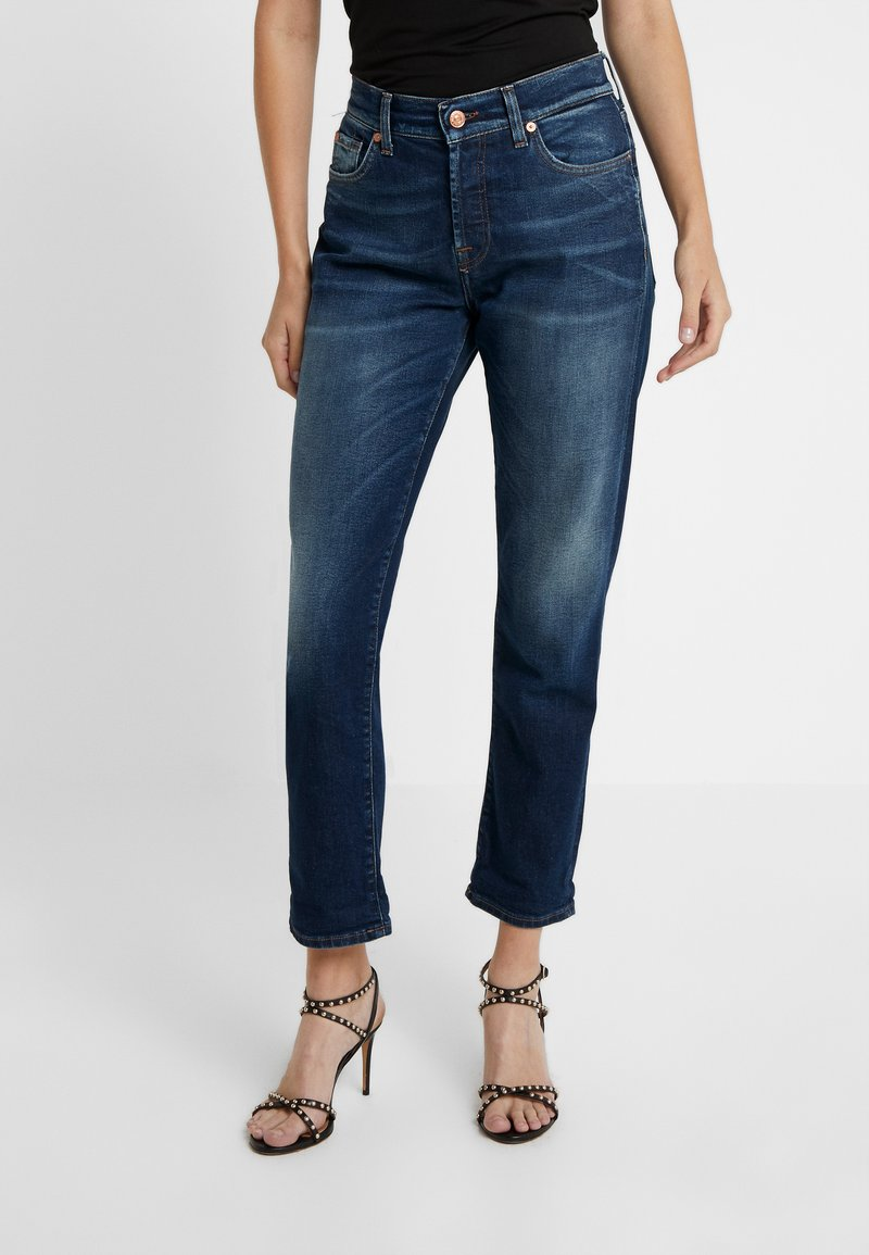 7 for all mankind - ASHER EN ROUTE - Relaxed fit jeans - dark blue