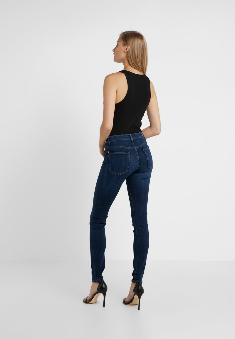 7 for all mankind - ILLUSION LUXE STARLIGHT - Jeans Skinny Fit - dark blue