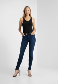 7 for all mankind - ILLUSION LUXE STARLIGHT - Jeans Skinny Fit - dark blue - 1