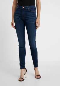7 for all mankind - ILLUSION LUXE STARLIGHT - Jeans Skinny Fit - dark blue - 2