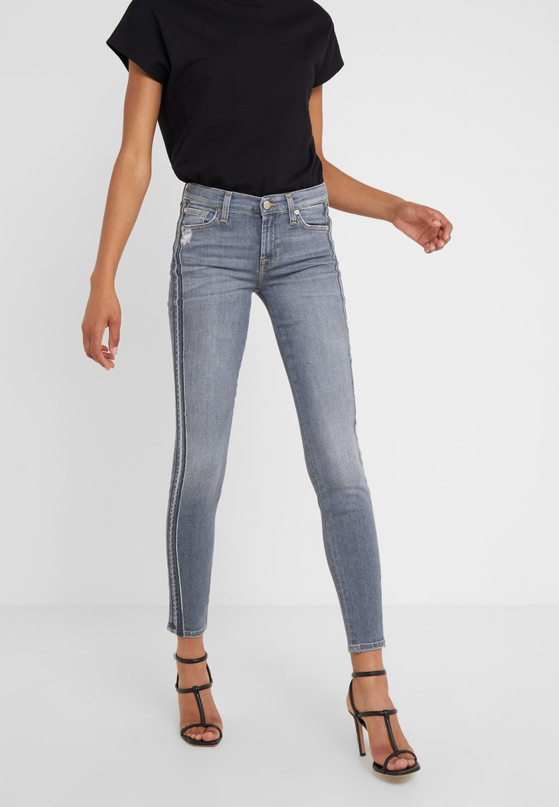 7 for all mankind - ILLUSION WILSHIRE - Jeans Skinny - light grey