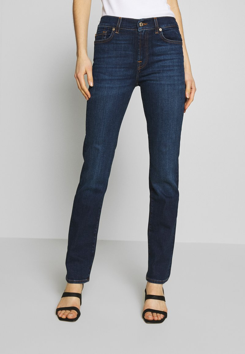 7 for all mankind - Straight leg jeans - dark blue