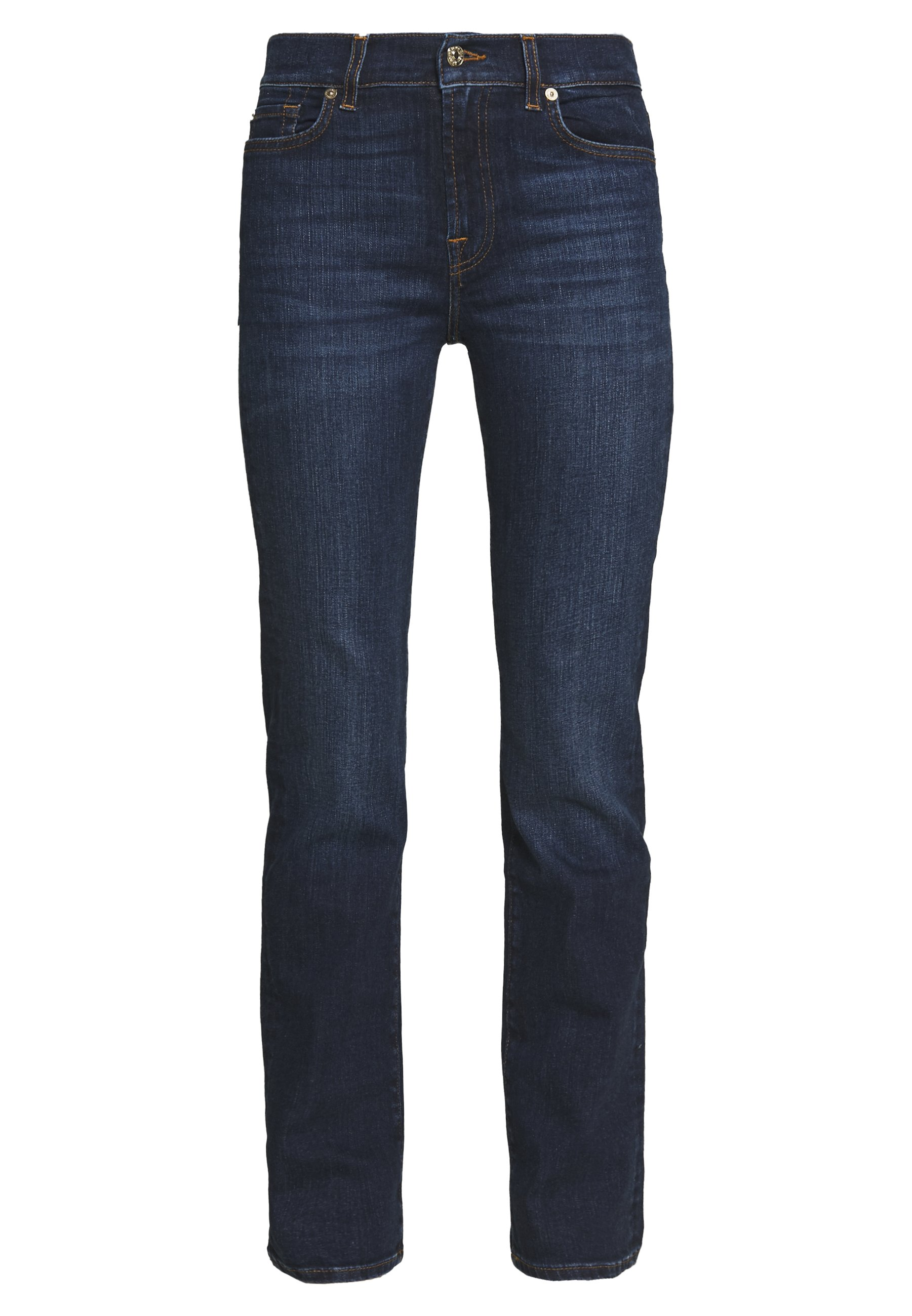 7 for all mankind Jeansy Straight Leg - dark blue