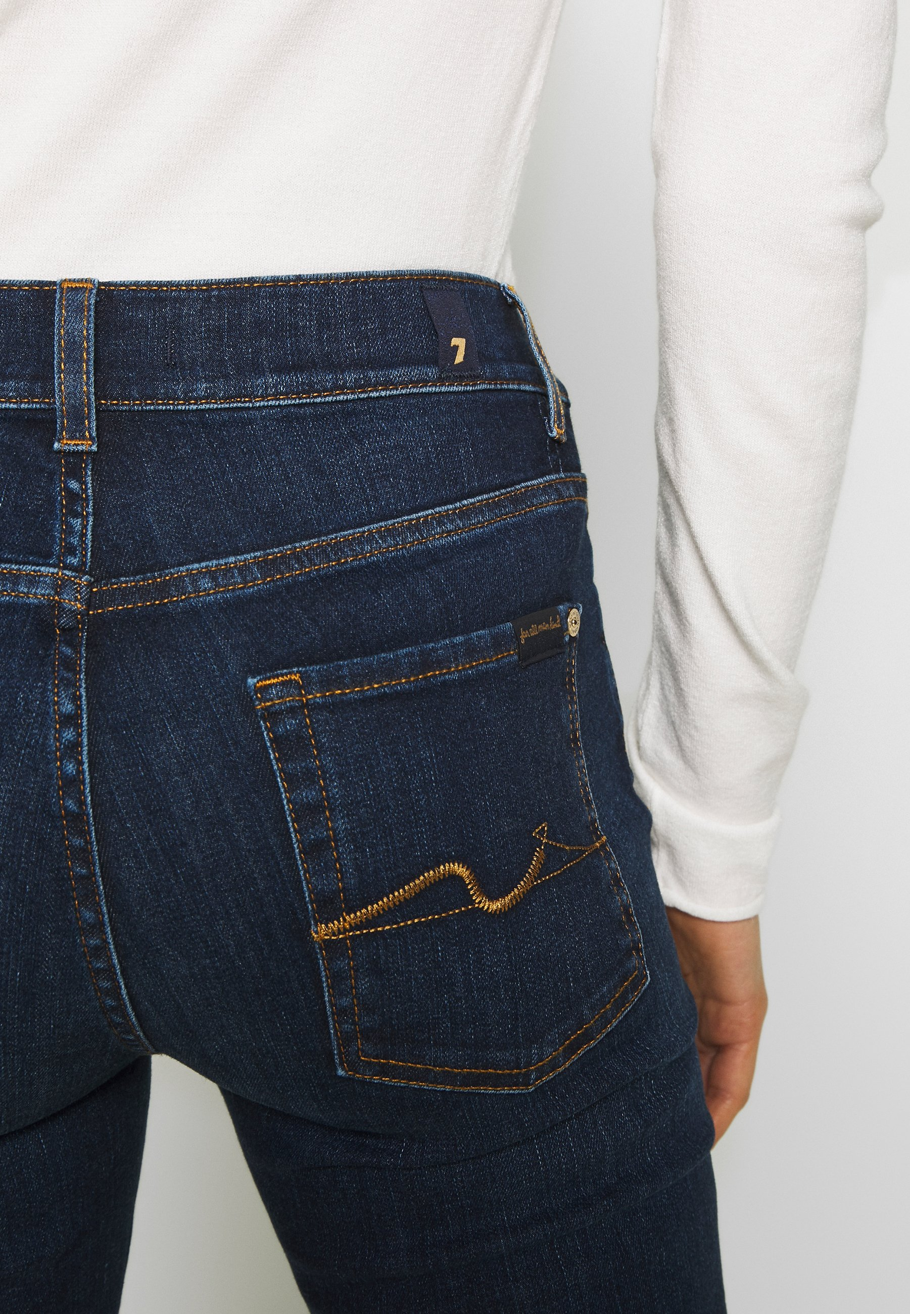 7 for all mankind Jeansy Bootcut - dark blue