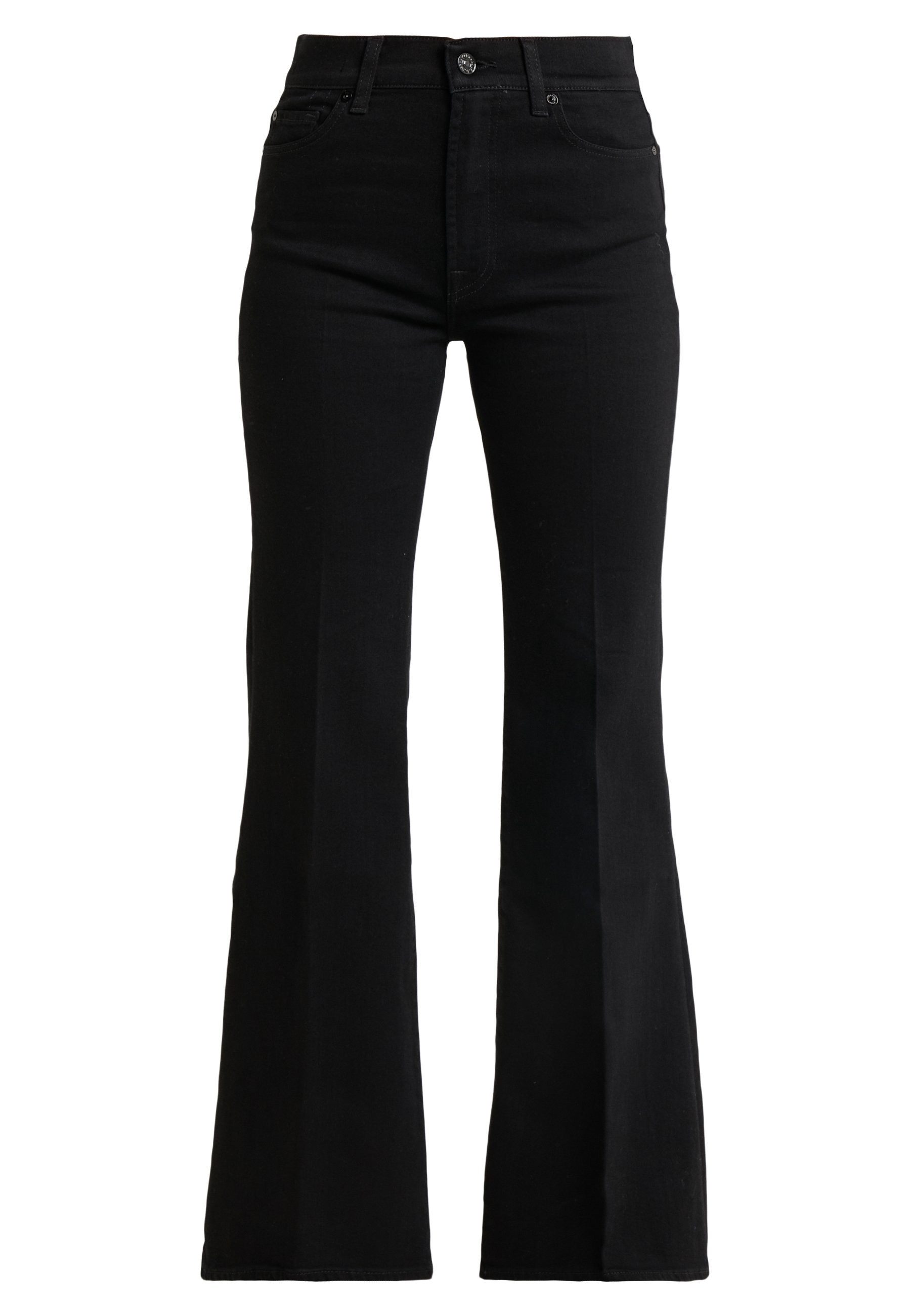 7 For All Mankind Flare - Flared Jeans Black