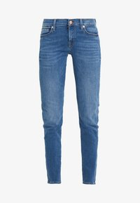 7 for all mankind - Jeans Skinny Fit - blue denim - 4