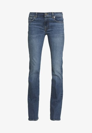 Bootcut jeans - blue grey