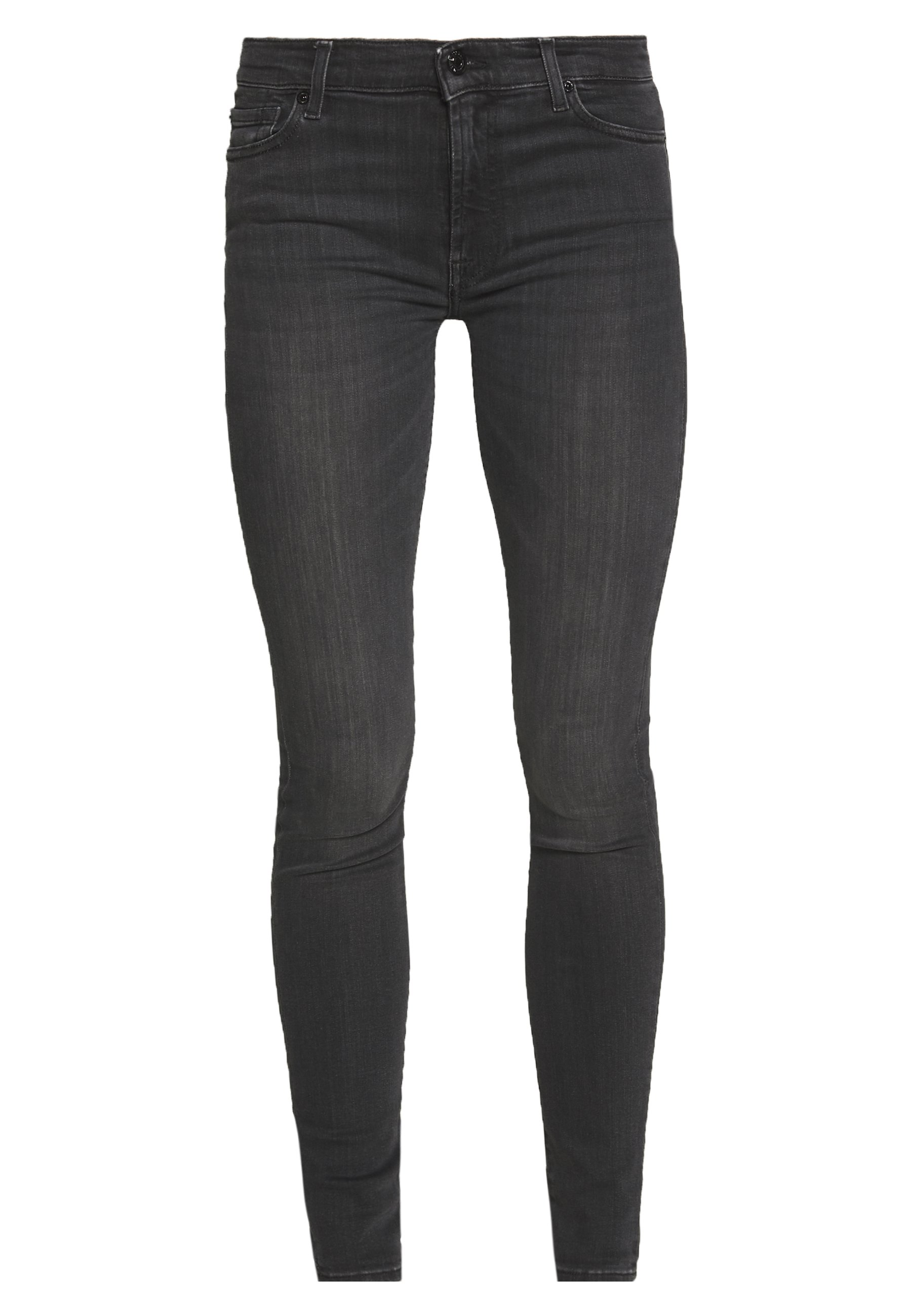 7 for all mankind ILLUSION LUXE MISTERY - Jeansy Skinny Fit - dark grey