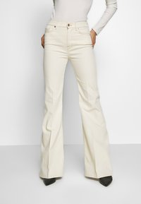 7 for all mankind - Flared Jeans - off white - 0