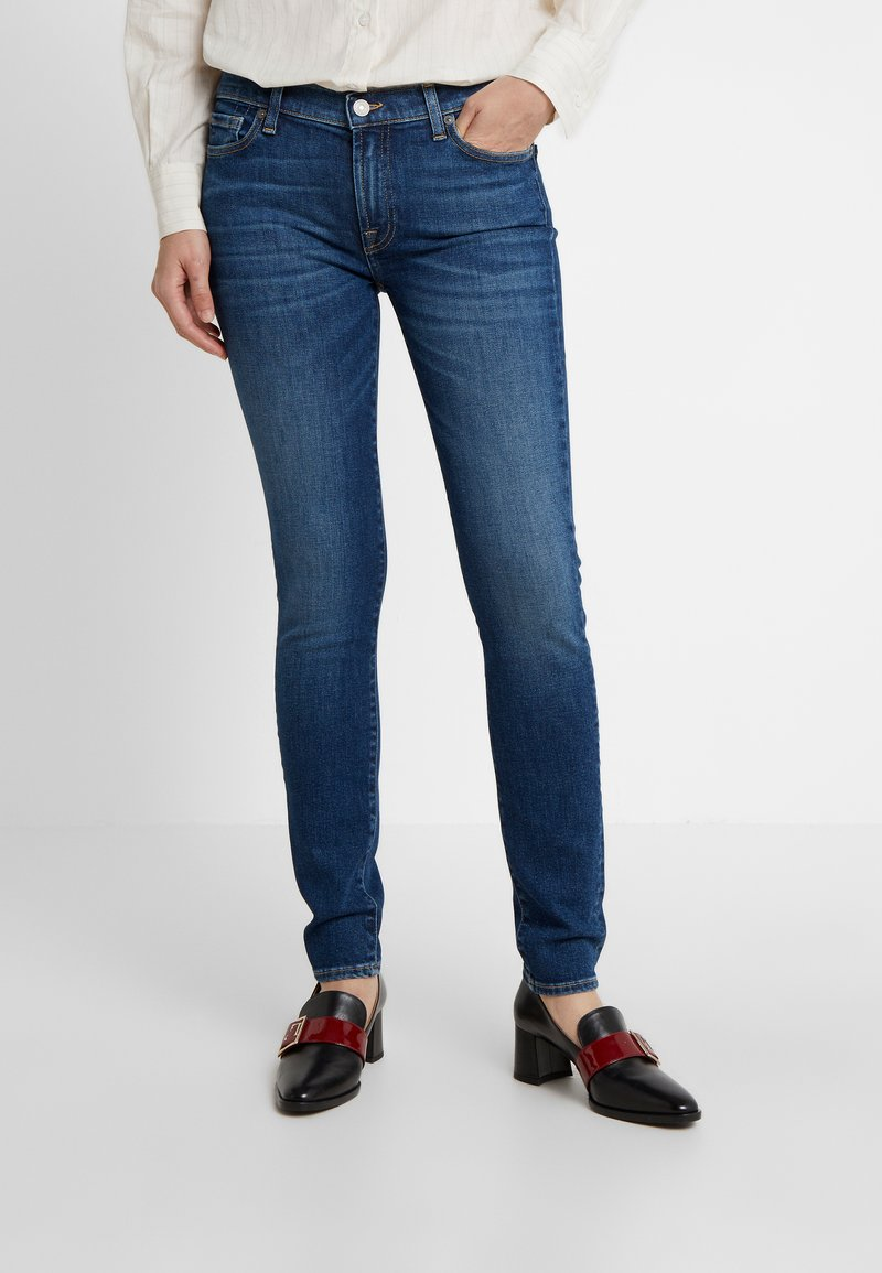 7 for all mankind - Jeans Skinny Fit - elite mid indigo