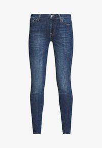 7 for all mankind - Skinny džíny - elite mid blue - 4