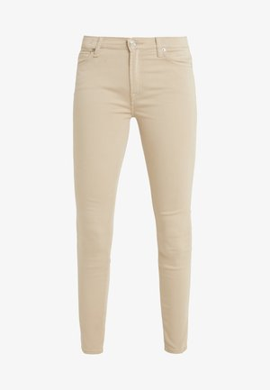 CROP - Jeansy Skinny Fit - sandcastle