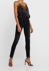 7 for all mankind - Jeans Skinny - black - 0