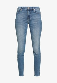 7 for all mankind - Skinny-Farkut - light blue