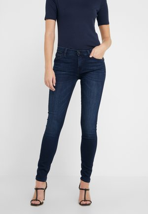 THE ILLUSION HOMELAND WITH EMBELLISHED SQUIGGLE - Jeansy Skinny Fit - dark blue