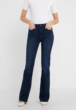 LISHA ILLUSION HOMELAND - Slim fit jeans - dark blue