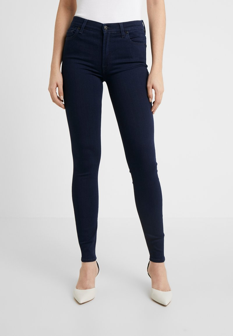 7 for all mankind - SLIM ILLUSION LUXE CERTAINTY - Jeans Skinny - dark blue