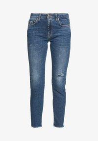 7 for all mankind - PYPER CROP - Jeans Skinny Fit - light blue - 4