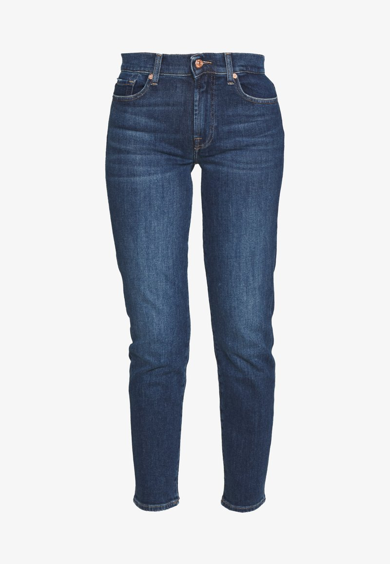 7 for all mankind ROXANNE ANKLE - Jeans straight leg - dark blue