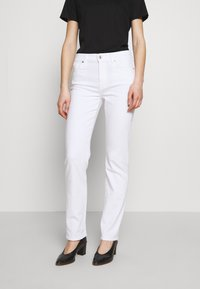 7 for all mankind - THE STRAIGHT - Straight leg jeans - white - 0